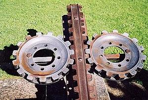 Pilatus Railway - The Locher system rack and pinion