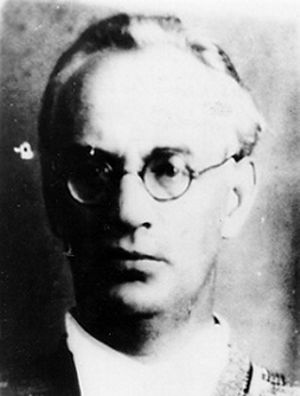 Boris Pilnyak - Official photo of Pilnyak after his arrest by NKVD 1937