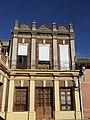 Pinilla de Toro two storied house at Plaza Unión d.jpg