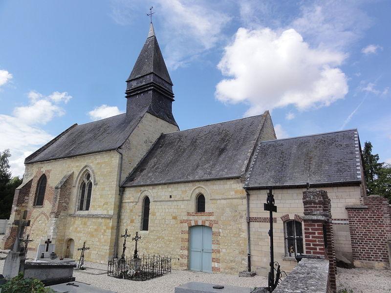 Pithon (Aisne) église Saint-Rémi
