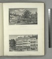 Pl. 3. Bowling Green, Broadway; Pl. 4. Residence of Philip Hone Esq. and American Hotel, Broadway (NYPL Hades-119324-54361).tif