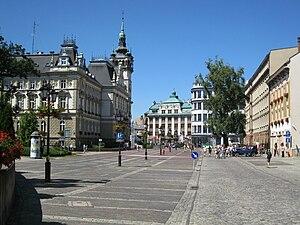 Plac Ratuszowy w Bielsku-Białej