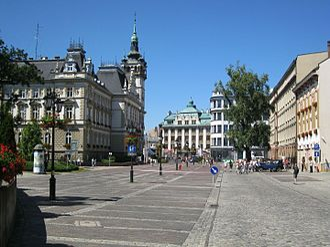 Bielsko-Biała - Town Hall Square