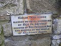 Plaque, Marian Shrine (1) - geograph.org.uk - 1482773.jpg