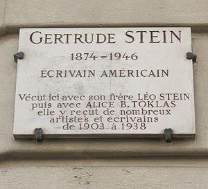 27 rue de Fleurus - Door plaque at 27 rue de Fleurus
