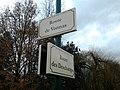 Plaques Route Vonnas Route Deschamps St Cyr Menthon 2011-12-07.jpg