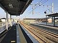 Platform of Itoshima-Kokomae Station 4.jpg