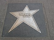 Pola Negri's Star in Poland's Walk of Fame