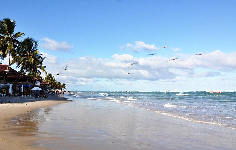 Foto das praias do Nordeste
