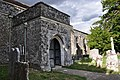 Porch of All Saints church, Ulcombe.jpg