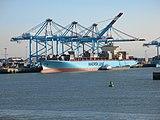 Port cranes at Zeebrügge, Belgium 2.JPG