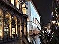 Portici settentrionali di piazza Duomo natale 2017 e luci foto 2.jpg