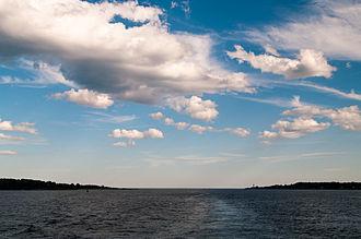 Cushing Island - Cushing Island opposite the Portland Head Lighthouse.