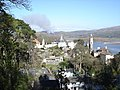 Portmeirion - from the gardens to the west of the village - geograph.org.uk - 1176130.jpg