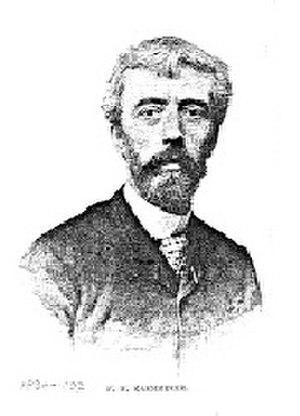 Frederik Hendrik Kaemmerer - Self-portrait (c.1880)