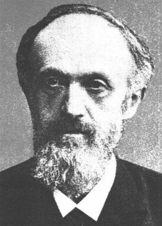 Moritz Traube - Moritz Traube - portrait, source: Ber. d. deutschen chem. Gesellsch. 28 (1895) S. 1085