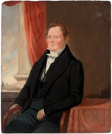 Portrait of George William Evans, 1847 a928765u.tif