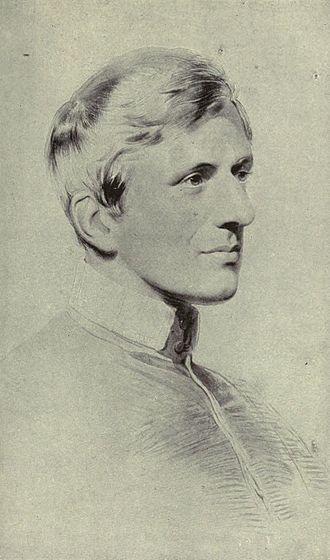 John Henry Newman - Portrait of Newman, by George Richmond, 1844