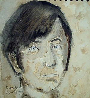 Patrick Swift - Portrait of Swift by Reginald Gray, 1980