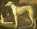 Portret van een hazewindhond en een patrijshond Rijksmuseum SK-C-263.jpeg