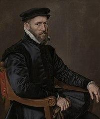 Portrait de Sir Thomas Gresham, pendant du portrait d'Anne Fernely