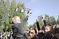 Positivus 2013 Tom Odell sign at Positivus (9920447253).jpg