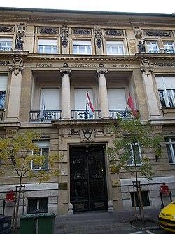 Post Culture House, former Egyedi palace. - Benczúr Gyula Street, Budapest.JPG