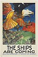 Poster, The Ships are Coming, 1917 (CH 18612743).jpg