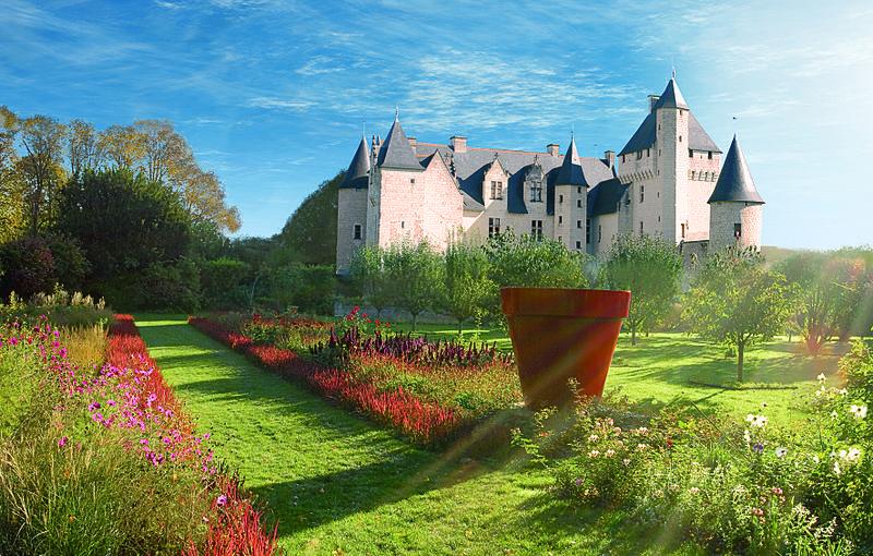 jardins du chateau de rivau