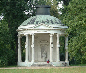 Wilhelmine of Prussia, Margravine of Brandenburg-Bayreuth - The Temple of Friendship, built in her memory