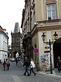 Powder Tower. Prague. Czech Republic. Пороховая Башня. Прага. Чехия - panoramio (3).jpg