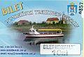 Poznanski Tramwaj Wodny ticket, Poznan.jpg