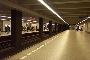 Hlavní nádraží (Prague Metro) - Platforms