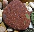 Precambrian volcanic pebble, Pembrokeshire.jpg