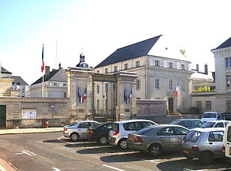 Indre-et-Loire - Prefecture building of the Indre-et-Loire department, in Tours