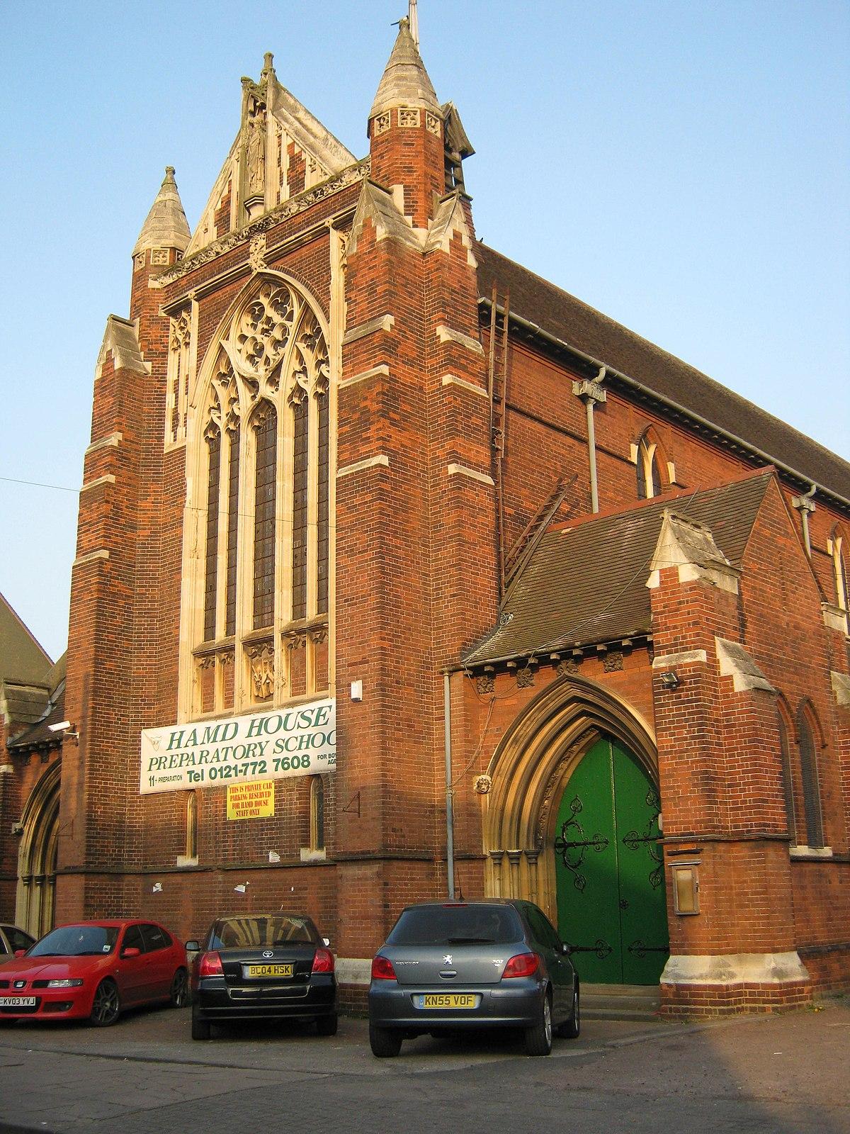 St Oswald's Church, Small Heath - Wikipedia