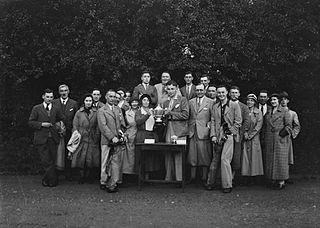 Presentation of golfing awards