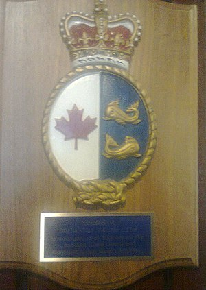 Canadian Coast Guard Auxiliary - Image: Presented to Britannia Yacht Club in recognition of support for the Canadian Coast Guard and Canadian Coast Guard Auxiliary Plaque