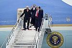 President Donald Trump visits Roland R. Wright Air National Guard Base.jpg