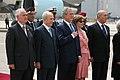 President George W. Bush and Laura Bush with Israeli leaders.jpg