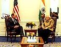 Prime Minister Modi meets Harold Varmus, Director National Cancer Institute.jpg