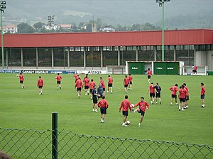 Bilbao Athletic in training