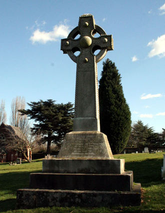 Woolwich cemetery - Memorial to those killed in the Princess Alice steamer disaster