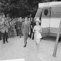 Prinses Margaret en Lord Snowdon op de tentoonstelling Museumplein, Lord Snowdon, Bestanddeelnr 917-7705.jpg