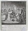 """Print, """"Democracy, or a Sketch o, 1800 (CH 18614159).jpg"""