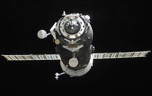 Progress M-10M - Progress M-10M approaches the ISS on April 29, 2011