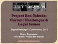 Project Ben-Yehuda - Digital Heritage 2012, Jerusalem.pdf
