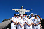 Promotion ceremony at Christ the Redeemer statue 140808-N-TN557-189.jpg