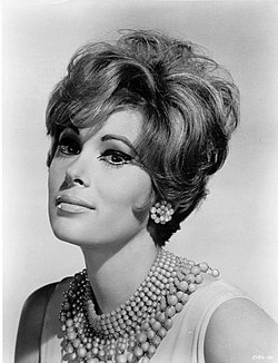 Promotion photo of Jill St. John in 'Honeymoon Hotel', 1964.jpg