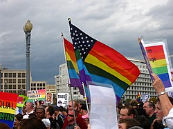 Prop 8 protest, Washington D.C., November 15, 2008.jpg